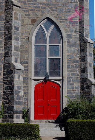 Door of a Connecticut Church