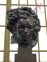 Beethoven in the Musee d'Orsay, Paris