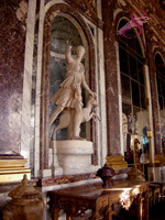 Diana the Huntress, Hall of Mirrors, Palace of Versailles